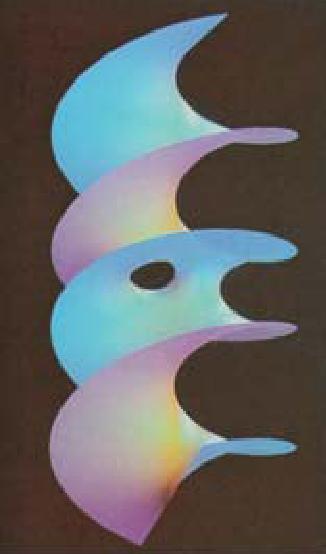 Helisoid berlubang ditemukan tahun lalu oleh David A. Hoffman dari Universitas Massachusetts di Amherts bersama koleganya, dengan bantuan grafik komputer.