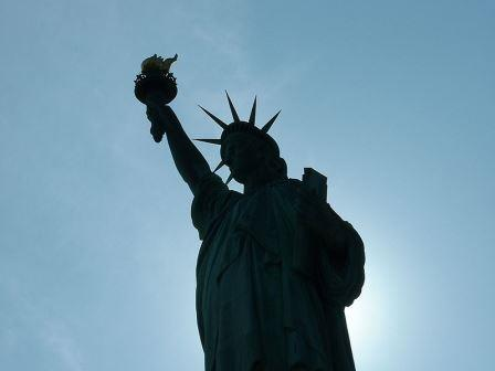 Patung Liberty (Gambar oleh: Pascual De Ruvo)