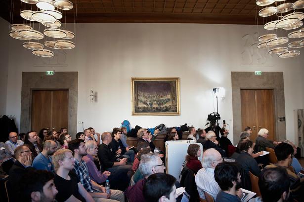 Lokakarya Fisikawan di Munich, Desember 2015. (Laetitia Vancon untuk Quanta Magazine)