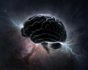 Otak terisolir dapat berfluktuasi secara acak menjadi eksis.