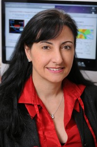 Marcela Carena, ilmuwan senior di Fermi National Accelerator Laboratory di Batavia, Illinois. (Courtesy Marcela Carena)