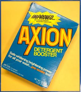 Deterjen cuci axion. (Courtesy Frank Wilczek)